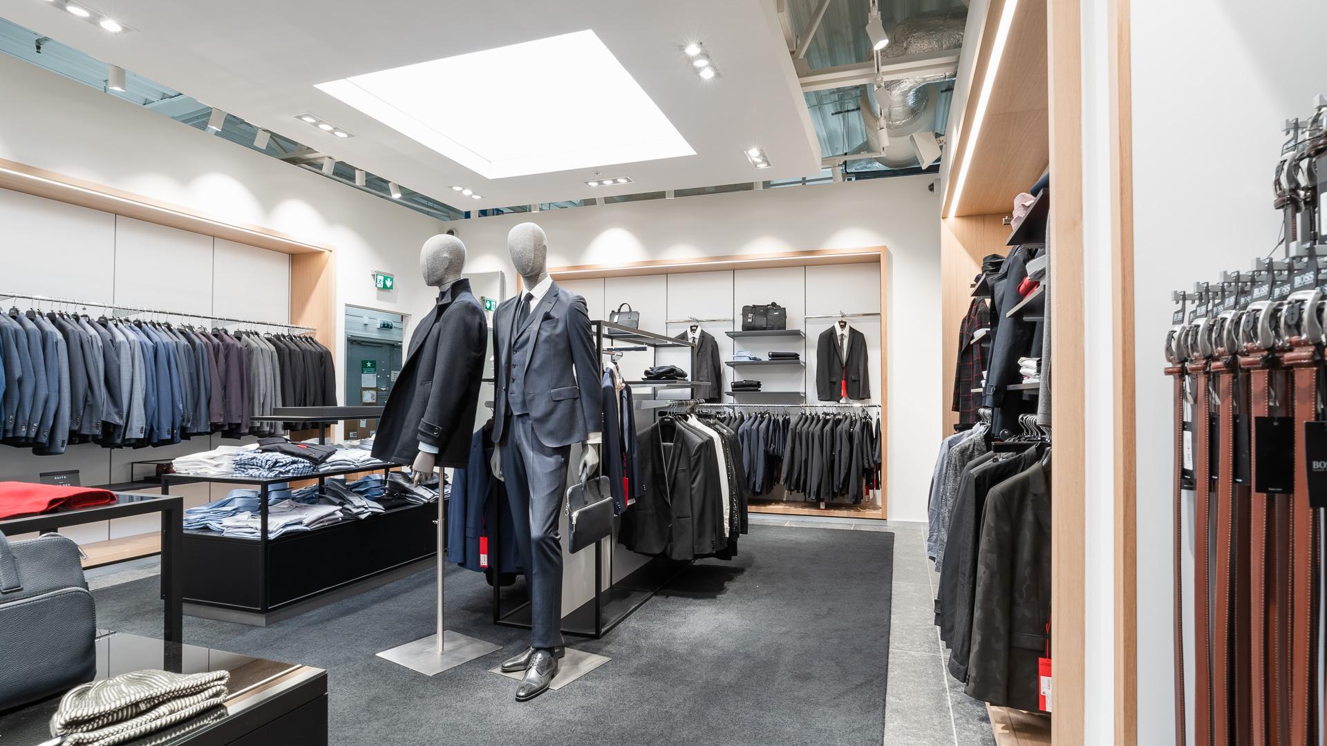 Hugo Boss store environment